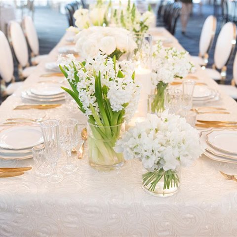 Winter Weddings - Table Styling in the Grand Ballroom