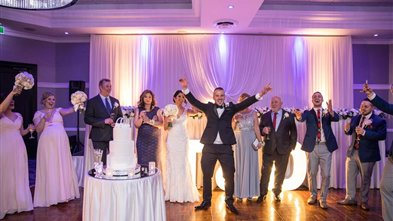 Real Wedding - Tara and Daniel. Photography by Paeonia Photography